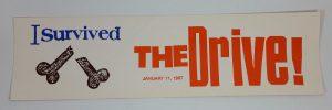 The Drive Bumper Sticker