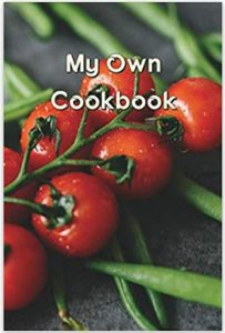 Cookbook cover with tomatoes on it